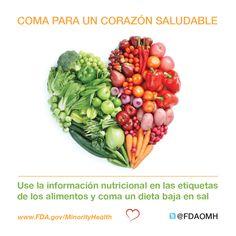 Coma para un corazón sano #corazón #salud #perisónalta