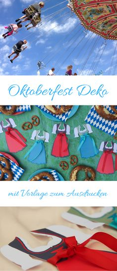Oktoberfest Party – ultimative Ideen und Tipps für Oktoberfest Essen, Oktoberfest Spiele und Oktoberfest Deko. Mit Oktoberfest Einladung Vorlage zum Ausdrucken und Printable für die Tischdeko.*** Oktoberfest Party – the best ideas for Oktoberfest food, Oktoberfest games and Oktoberfest decorations. Also: Oktoberfest Printable to use as invitation, place card, bunting and table decoration.