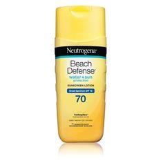 Amazon.com: Neutrogena Beach Defense Sunscreen Lotion with Broad ...