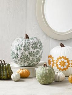 How to Decoupage a Pumpkin