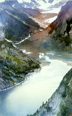 Misty Gorge by Nita Engle. This is delightfully evocative.