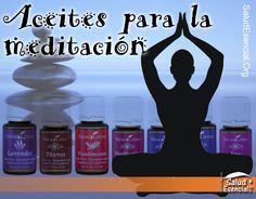 Aceites Esenciales para la meditación