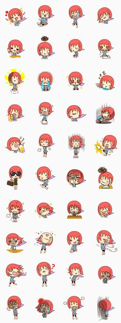 Doong Doong is a hysterical, emotional and somewhat amusing lady. Perfect for expressing your feelings! Emoji Stickers, Kawaii Stickers, Funny Stickers, Diy Stickers, Printable Stickers, Planner Stickers, Bullet Journal Icons, Anime Chibi, Kawaii Illustration
