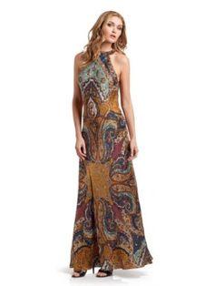 GUESS by Marciano Paula Paisley Maxi Dress