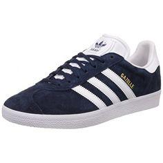 the best attitude b44df 17c77 Adidas gazelle scarpe da ginnastica unisex adulto blu
