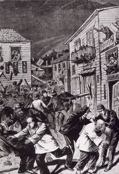 The Chinese Massacre of 1871 in Los Angeles Chinese American, American History, Early American, Denver, Dylan Dog, Colorado, Chinese Man, Historical Pictures, Old West