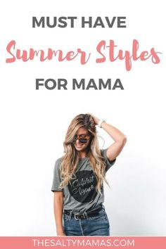 Wanting to make a splash this summer? How to upgrade your look (for cheap!) for summer fashion Summer Fashion Trends, Summer Trends, Fashion 2018, Fashion Tips, Mom Fashion, Beauty Tips For Skin, Beauty Secrets, Beauty Hacks, Family Outfits