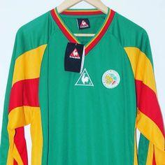 2002 Senegal World Cup Away Shirt XL l/s le coq sportif BNWT Price: 64.99 Seller: @timelessfootball Link in bio (search: senegal) #senegal #afcon #africafootball #lecoqsportif #footballshirtcollective