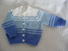 Another striped baby jacket , Yet another striped baby cardigan , Knit Picky Patterns Source by charmellew Baby Cardigan Knitting Pattern Free, Baby Boy Knitting Patterns, Baby Sweater Patterns, Crochet Baby Cardigan, Knit Baby Sweaters, Knitted Baby Clothes, Cardigan Pattern, Booties Crochet, Crochet Jacket
