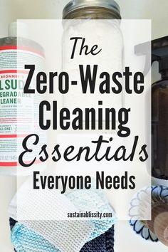 Zero-Waste cleaning