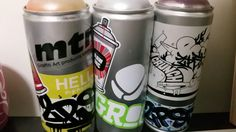 Stickered cans