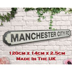 Manchester City Gifts Signs champions 2019 championship Winners Manchester United Old Trafford, Manchester City, Brighton & Hove Albion, Brighton And Hove, Carrow Road, Football Signs, Goodison Park, St James' Park, Fernando Torres