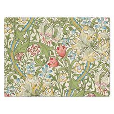 Shop William Morris Golden Lily Vintage Pre-Raphaelite Wrapping Paper Sheets created by artfoxx. William Morris, Art Nouveau, Edward Burne Jones, Thing 1, Pre Raphaelite, Arts And Crafts Movement, Pattern Wallpaper, Adulting, Vintage Art