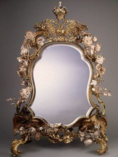 Mirror by Charles Frederick Kandler, 1741/42, The State Hermitage Museum, St. Petersburg