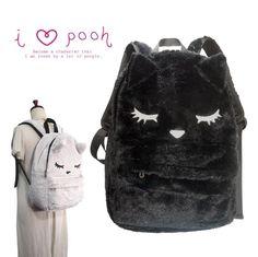 1df8ca7e61bf Sleeping Cat Furry Backpack. Kawaii BagsKawaii ...