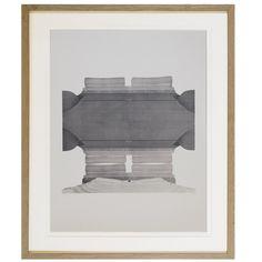 Large Serigraphy on Paper by KONRAD SCHULZ, 1969 Solid Oak, Modern Art, Paper, Artwork, Furniture, Home Decor, Work Of Art, Decoration Home, Auguste Rodin Artwork