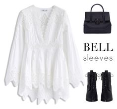 Bell Sleeves by xxellaxxx on Polyvore featuring polyvore, fashion, style, Chicwish, Zimmermann, Versace and clothing