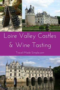 Explore castles and sip French wine on a day tour to the Loire Valley from Paris. #WineIdeas