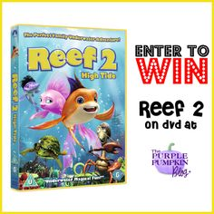 The Purple Pumpkin Blog: Reef 2: High Tide on DVD [Giveaway + Free Activity Sheets]