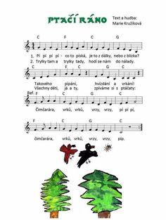 Paper Birds, Kids Songs, Music Lessons, Preschool, Studying, Nursery Songs, Kid Garden, Kindergarten, Preschools