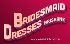 Browse this site http://elitebridal.com.au/bridesmaid-dresses-brisbane/ for more information on Bridesmaid Dresses Brisbane. When it comes to a wedding, not just the bride to be is worried about the big day but her family and friends too are. And when it comes to searching for the wedding dress and the Bridesmaid Dresses Brisbane, only the bride can tell you exactly how tough it is.  Follow us: http://en.gravatar.com/weddinggownshopsbrisbane