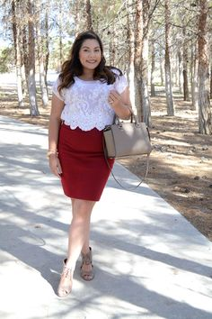 Business Casual | Business Casual Outfits | Business Casual Outfit Ideas | Corporate Style | Pencil Skirt | The Adorned Life
