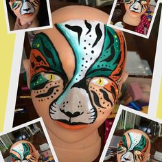 Inspired by Mark Reid. Love his tiger designs!