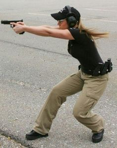 that moment when your crossing the road and you find yourself in a gun fight and you feel sooo pumped that you kept your range gear on when you went to walk home