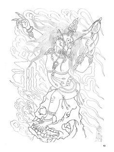 Paradise Tattoo, Gangsta's Paradise, Tibetan Tattoo, Tibet Art, Oriental Tattoo, Buddhist Art, Design Show, Tattoo Designs, Tattoos