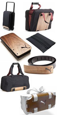 Puma Urban Mobility - a fine timber grain introduced into bag design 8eacc9069c