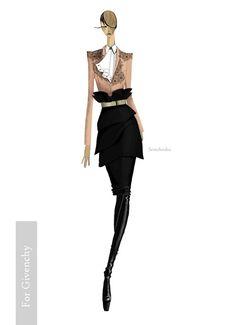 Оlga semchenko - For Givenchy