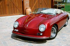 A Candy Apple Red Speedster!