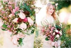 #Dreamy / #Wish / #Romantic / #Love / #Fantasy / #Fairytale / #Flower / #Pink / #Pastel / #Purple / #Bouquets / #GoldenHour / #Smiles / #Kisses / #Candid / #WeddingStyledSession / #TheDressTheory / #GreenLaceLion / #Ranunculus / #RuedeSueine / #Vintage / #Bohemian #CherryBlossoms / #NewJersey