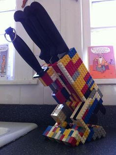 17 Practical Uses for LEGO in Your Everyday Life -- might have to make that smartphone stand....