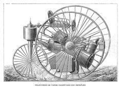 grabadofilia: Inventos del siglo XIX (Parte 3) VELOCÍPEDOS.- XIX century inventions (Part 3) VELOCIPEDES