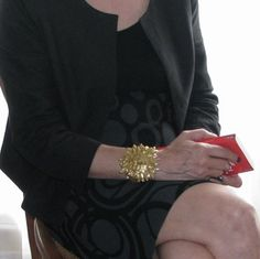 YVES ST LAURENT, bracelet haute couture $742