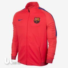 Nike FC Barcelona Dry Strike Trainer Herren Track Jacke Trainingsjacke Barca M in Kleidung & Accessoires, Herrenmode, Jacken & Mäntel | eBay! Fc Barcelona Jacket, Nike, Mantel, Motorcycle Jacket, Trainers, Athletic, Ebay, Tops, Red