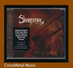 SYMPATHY - ANAGOGIC TYRANNY (CD 2009 Bombworks) *New* Metal CCM   #DeathMetal