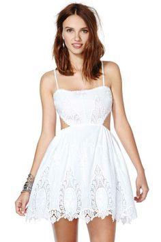 Nasty Gal Skate-Laced Dress