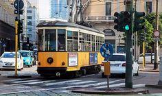 Ed eccoci finalmente in piazza Cavour con Tram Milano Foto di Franco Brandazzi #milanodavedere Milano da Vedere