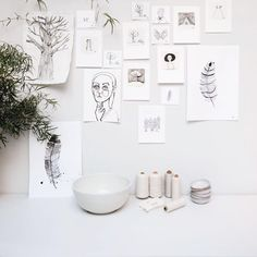 Sukha believes that painting is silent poetry. Our illustrator Barbara van den Berg joined us in our flagship store to created some wonderful big and small paintings. Drop by our store to get yourself one of these Sukha treasures!