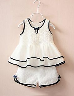Give it a look for what we pick best for each Fashion Kids Girls Clothing Sets Teenage Summer Costume Kids Clothes Suits Cotton Lace Shirt Vest Shorts Pants - # Suits Dresses Kids Girl, Kids Outfits, Dress Girl, Baby Dress Patterns, Kids Frocks, Trendy Girl, Fashion Kids, Fashion Wear, Latest Fashion