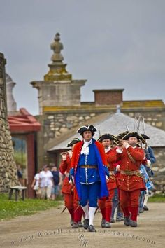 Historic Living Museum Louisbourg National Historic Site,Cape Breton in Nova Scotia #Canada