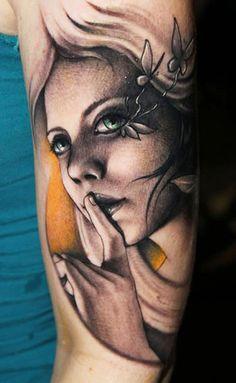 Shhhhhh. Riccardo Cassese #InkedMagazine #tattoo #tattoos #art