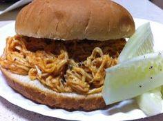 Delish!: Crock Pot Monday: Buffalo Chicken.