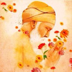 """Before becoming a Muslim ,a Sikh, a Hindu or a Christian Let's become a human first"" ☆ Guru Nanak Dev ji Guru Nanak Ji, Nanak Dev Ji, Guru Granth Sahib Quotes, Shri Guru Granth Sahib, Sikh Quotes, Gurbani Quotes, Punjabi Quotes, Guru Nanak Wallpaper, Guru Nanak Jayanti"