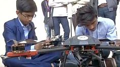 14-year-old Indian boy signs government contract to make anti-landmine drones #HarshwardhanZala #tech #technews