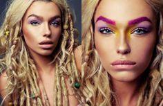 Effloresce for Exalt Magazine » Eyeshadow Lipstick