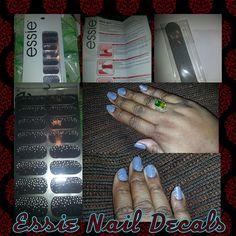 Essie Nail Decals for 1.00 at Dollar Tree! !!