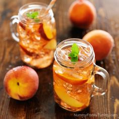 PEACH SIMPLE SYRUP  is easy to make. Get some sun brewed tea going and pour in some simple syrup and you have yourself one tasty beverage.
